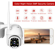 HD 5MP WiFi PTZ Security Camera Infrared Waterproof Dome Wireless Camera 1080P