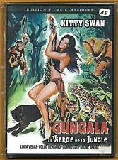 DVD - GUNGALA LA VIERGE DE LA JUNGLE (KITTY SWAN) AVENTURE / NEUF