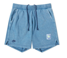 Nike Re-Issue Knit Wash Challenge Court Shorts / Size Small / Stone Blue Agassi