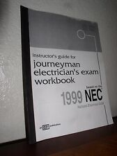 Journeyman Electrician's Guide Exam Workbook based on 1999 NEC-Chellew(1998, PB)