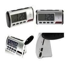 Spy Camera Alarm Clock Video Recorder Hidden Nanny Cam DVR Motion Detection M67