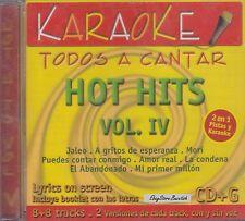 Ricky Martin Alex Ubago Tranzas Elefante Hot Hits Vol IV Karaoke Nuevo Sealed