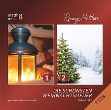 Die schönsten Weihnachtslieder 2 CDs (Vol. 1 & 2), Gemafreie Weihnachtsmusik