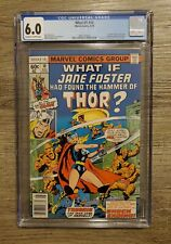 What If? #10 CGC 6.0 1st App. of Jane Foster as Thor (Thordis) Upcoming MCU App.