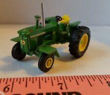 1/64 ERTL farm toy custom John deere 4020 tractor w/ chrome stack, front fenders