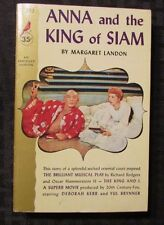 1956 ANNA KING OF SIAM by Margaret Landon 1st Cardinal Paperback FN+ Movie