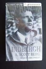 Lindbergh Abridged Audiobook Audio Cassette A Scott Berg Eric Stoltz Sealed
