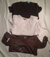 Womens Juniors Huge Clothing lot of 3 NWT Tops Shirts Mero a Size Large L