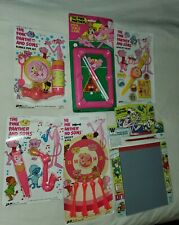 Lot of 6 Vintage Ja-Ru Whitman Pink Panther 1984 Bubble Kazoo Target Toy Jewelry