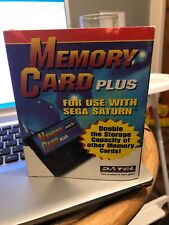 Sega Saturn Memory Card Plus By Datel Boxed Rare
