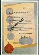 2 Schreiben Fleischwerke Zimmermann Thannhausen Schwaben 1960 Erklärung DLG