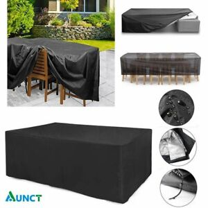 Outdoor Furniture Dustproof Cover Oxford Cloth Rattan Table Chair Sofa Protector