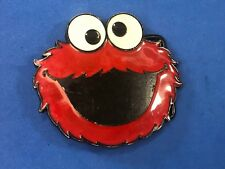 Red Elmo wants a cookie? Mouth wide open novelty Belt Buckle