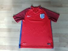 Nike England International Fa 2016-2017 Away Football Shirt Small *Free P&P*