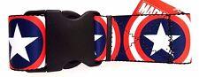 "Marvel Comics Captain America 72"" Adjustable Graphic Luggage Strap NWT"