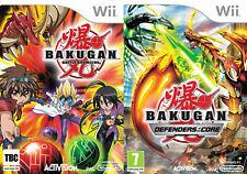 Bakugan Battle Brawlers & Bakugan Defenders of the Core      wii pal