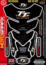 Isle of Man TT Races Official Licensed Motografix Tank Pad Tankpad Protector