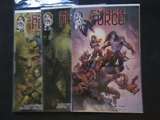 CYBER FORCE 2013 1 2 3 comic lot TOP COW IMAGE