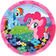 MY LITTLE PONY PARTY SUPPLIES BEVERAGE PLATES PACK OF 8
