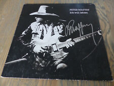 """Peter Maffay Signed Autograph on """"I Want to Live"""" Vinyl Signed InPerson LOOK"""