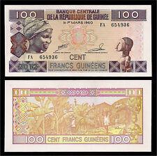 République de Guinée, 100 Francs. 2012.