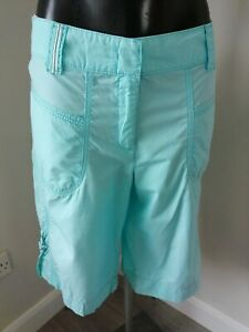 Betty Barclay Size 16 Light Blue Leger Long shorts 100% Cotton