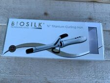 "New BioSilk Titanium Curling Iron 3/4"" Fast Free Shipping!"