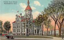 Marshalltown Iowa Court House Antique Postcard J54992
