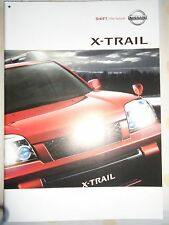 Nissan X Trail brochure 2004 Japanese text
