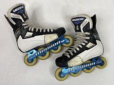 Mission Soldier Inline Hockey Roller Skates Size 8D (8 US Men Shoe/ 9.5 Women