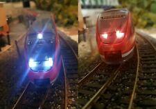H0 BRAWA 0710, BR 643, Rot/Weiss SMD LED Beleuchtung Umbau Bausatz Teile