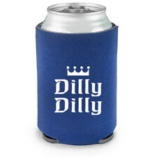 Funny Dilly Dilly Beer Can Cooler Bud Light Bottle