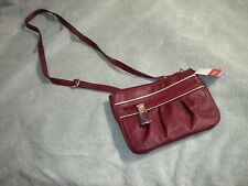 RELIC Small Cross Body Bag Burgundy Purse - NWT