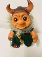 Vintage 1965 Dam Troll Viking Doll Denmark