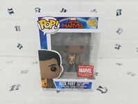Funko Pop #447 Nick Fury With Goose Cat Captain Marvel Collector Corps Exclusive