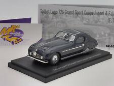 "Autocult 02019 # Talbot Lago T26 Grand Sport Coupe Bj. 1949 "" dunkelblau "" 1:43"