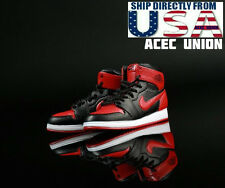 1/6 Men Sneakers Nike Air Style RED For Hot Toys Phicen Male Figure USA SELLER