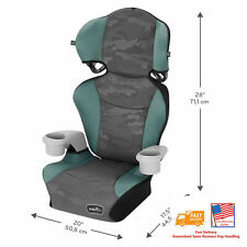 🔥🆕Evenflo Big Kid Sport High Back Booster Car Seat, Arcadia✅
