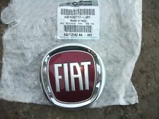 FIAT FRONT GRILLE BADGE GRANDE PUNTO PANDA 500 IDEA emblem logo 95mm GENUINE