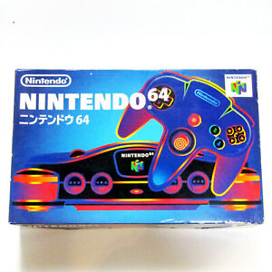 Nintendo 64 Console With AV Cable tested working N64 NUS-001 Japan Retro Game