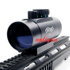 1X45 Red Green Reflex Scope Sight 20mm Picatinny Rail Mount For Rifle Hunting