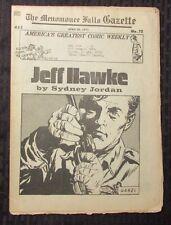 1973 Menomonee Falls Gazette Comic Weekly #72 VG Jeff Hawke by Sydney Jordan