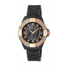 Relojes de pulsera de plástico resistente al agua para mujer
