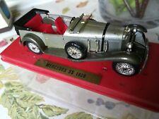 1/43  MERCEDES / MODEL 540 SS / 540SS  CABRIOLET 1928 / SOLIDO / BOITE D'ORIGINE
