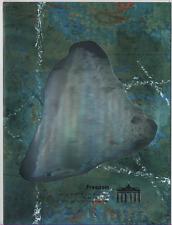 Bund 1990 Block 22 Hologramm Collage WWF Gedenkblatt/Grenzöffnung Sonderstempel