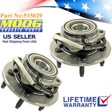 2x Front Moog Wheel Hub Bearing Assembly & ABS fit 00-04 Ford F150 w/Lug 515029