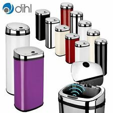 Dihl Rectangle & Round Automatic Kitchen Waste Sensor Bins All Colours & Sizes