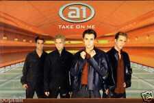 A1 - TAKE ON ME/I GOT SUNSHINE 2000 UK CASSINGLE CARD SLEEVE SLIP-CASE BEN ADAMS