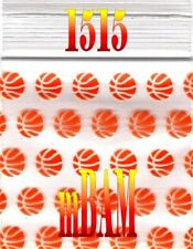100 PACK 1515 BASKETBALLS SLAM DUNK APPLE ZIPLOCK Baggies 1.5x1.5""