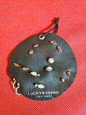 NEW Lucky Brand 7 Pairs of Earrings SemiPrecious Accents Lips/Pearls/Leaves/